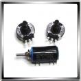 Резисторы переменные D=24...30 мм.