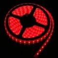 Лента 60 LED/ метр (3528), 12V, цвет- красный, угол120°, влагозащита