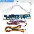 Драйвер (инвертер) для LED универс. 125х30мм. (10 вариантов подключения) 10-26V