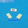 Светодиоды для LED TV 6x3мм 6-6,5В 90мА SMD (цвет-белый)