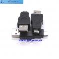 Переходник штекер USB на штекер MICROUSB