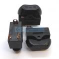 HD-10A (HG-A01-01) выключатель трехпозиционный (0-I-II) для фенов (цвет корпуса-черный, цвет клавиши-черный) 10А 250В