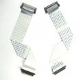 Шлейф 30 pin 210мм, шаг 1 мм, с разъемами (с 2-х сторон) для LCD TV и мониторов.