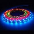 Лента 72 LED/ метр (5050), 24V, трехцветная (RGB), угол120°