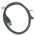 Шнур-переходник USB на microUSB (5 pin), длина- 1,5м