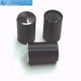 Ручки черные (металл), внешн. D=10мм, h=15мм, внутр. d=6мм (№12)
