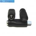 Переходник для адаптеров гнездо 5,5 х 2,1 мм на micro USB