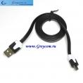 Шнур-переходник USB на microUSB (5 pin), длина- 1м