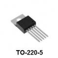 Микросхема LM2576HVT-ADJ NSC