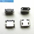 Разъем micro-USB 5pin smd (боковое крепление, short pin)